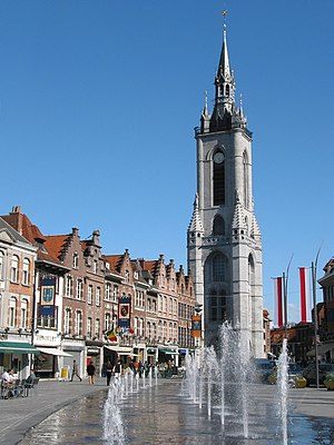 Belfries of Belgium and France - Belfry of Tournai