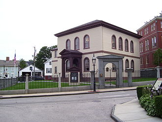 Touro Synagogue - Image: Touro Synagogue Newport Rhode Island 3