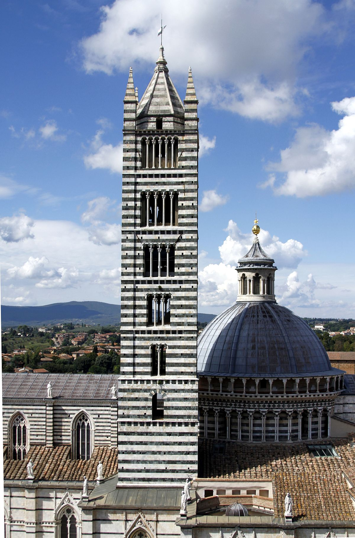 Campanile of the Cathedral of Siena - Wikidata