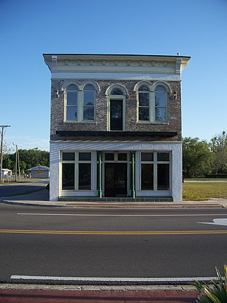 National Register of Historic Places listings in Union County, Florida - Image: Townsend Bldg Lake Butler 03