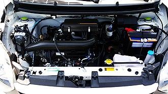 Toyota KR engine - 1KR-DE engine in the Wigo.