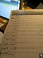 Track sheet, Gravity Slaves recording (15), Studio Contrepoint, May 2010.jpg