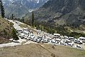 Traffic Jam - Leh–Manali Highway - Gulaba - Kullu 2014-05-10 2366.JPG