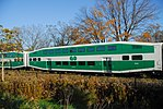 Trainspotting GO train -923 banked by MPI MP40PH-3C -609 (8123510505).jpg