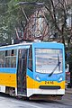 Tram in Sofia mear Macedonia place 2012 PD 029.jpg