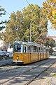 Tram line 41 at Adam Clark Square, Laika ac Budapest (10441908355).jpg