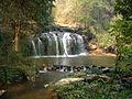 Trekking in Chang Mai, waterfall in dry season - panoramio.jpg