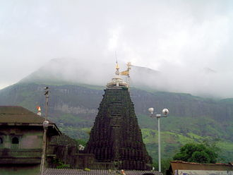 Nashik - Trimbakeshwar Temple near Nashik (source of the Godavari River)