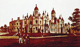 Trinity College circa 1852, referred to as Old Trin