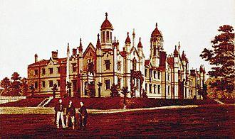 Trinity College, Toronto - The original Gothic Revival Trinity College, circa 1852 by architect Kivas Tully