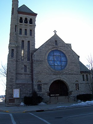 Trinity Episcopal Church (Oshkosh, Wisconsin) - Image: Trinity Episcopal Church Oshkosh Wisconsin