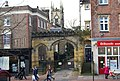 Trinity Arts Centre behind an arched entrance - geograph.org.uk - 1071370.jpg