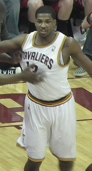 Tristan Thompson - Thompson with the Cavaliers in 2012