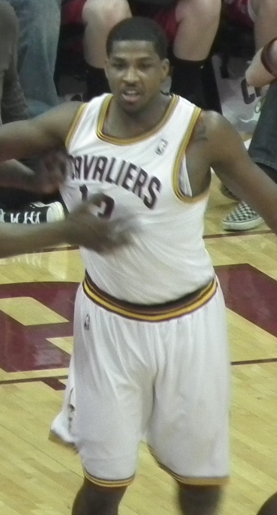 Tristan Thompson Cavs vs Wizards (cropped)