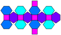 Truncated rhombic dodecahedron net.png