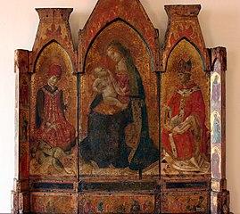 Madonna col Bambino tra i santi Vito e Castrense