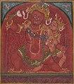 Tsakalis or Initiation Card, Hayagriva, Tibet, 13-14th century (cropped).jpg