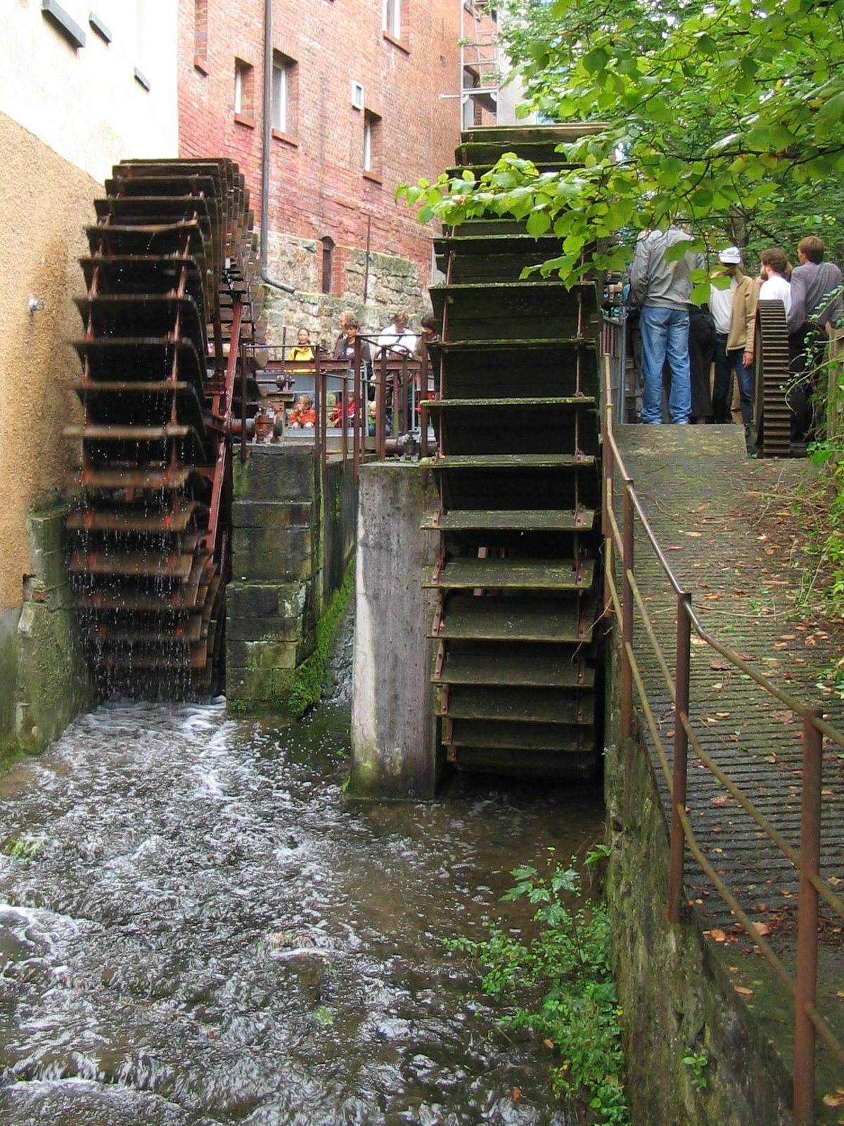 Energ a hidr ulica wikipedia la enciclopedia libre for Construccion de piletas de agua