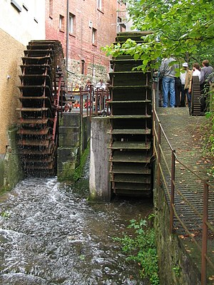 Hydraulics - Waterwheel.