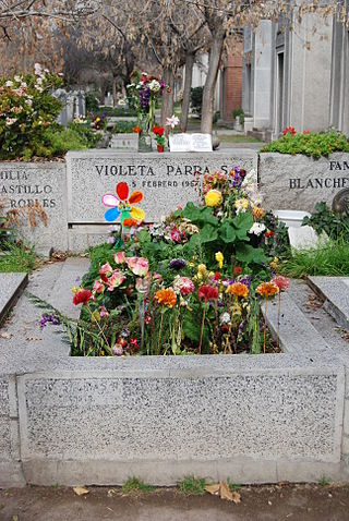 Tumba Violeta Parra