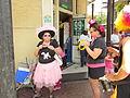 Tumblers at Pride 2010 poodle doorway.JPG
