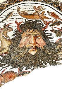 Primordial Greek god of the sea