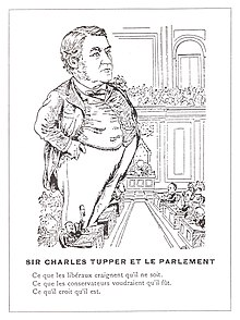 A biography of the life and influence of sir charles tupper