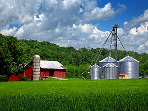 Turbot Township, Northumberland County, Pennsylvania - a farm in the township