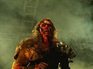 Finnish metal band Turisas live at Jalometalli...