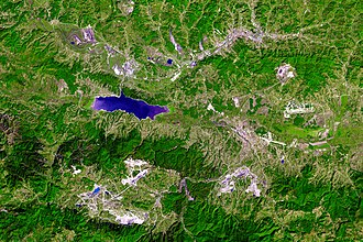 Tuzla - Tuzla valley (coal mines, lakes, airport)