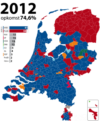 Dutch general election, 2012 - Image: Tweede Kamerverkiezingen 2012