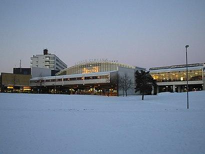 Vägbeskrivningar till Tyresö Centrum med kollektivtrafik