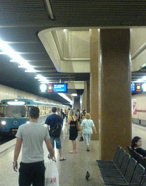 Munich Giesing station - Platform