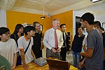 U.S. Ambassador Ted Osius visits the Maker Innovation Space located in University of Danang (36323608914).jpg