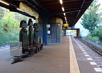 Dahlem-Dorf (Berlin U-Bahn) - Platform of the station