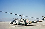 UH-1H disguised as Mi-24 Fort Irwin 1985