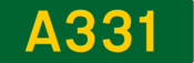A331 road shield