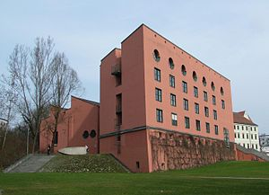 University of Passau - Philosophicum (Arts and Humanities building)