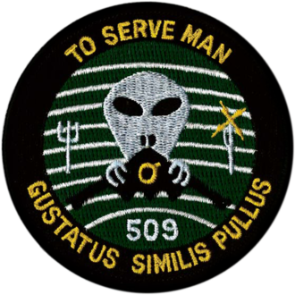 To Serve Man (The Twilight Zone) - USAF - 509th Operations Group Unofficial Patch