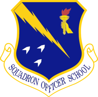 Air University (United States Air Force) - Squadron Officer School emblem