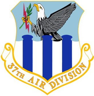 37th Air Division - Image: USAF 37th Air Division Crest