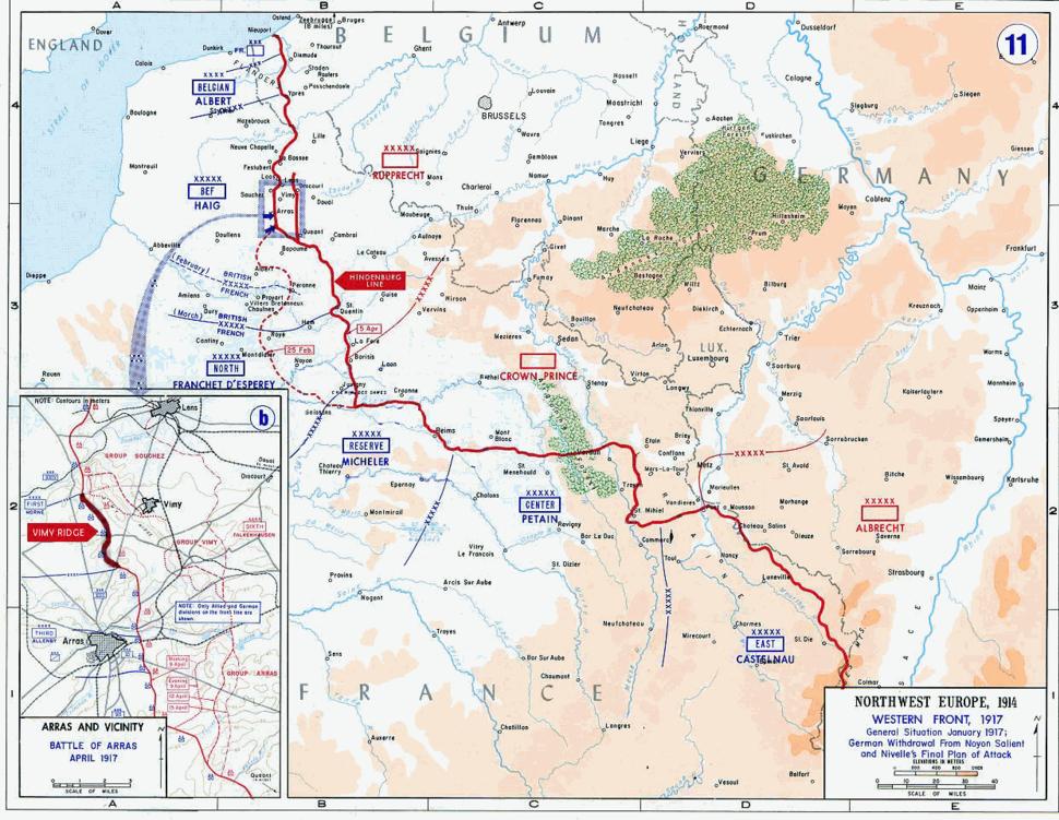 USMA - Battle of Arras - Vimy Ridge derivative