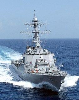 USS <i>Cole</i> (DDG-67) Arleigh Burke-class destroyer