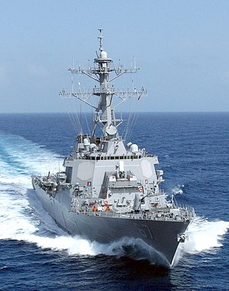 USS Cole (DDG-67) - Image: USN Arleigh Burke Class Destroyer
