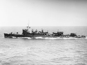 USS Chew (DD-106) underway at sea in the Pacific Ocean on 2 August 1945 (80-G-277132).jpg