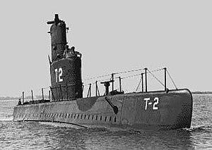 موسوعة غواصات البحرية الامريكية بعد الحرب العالمية الثانية بالكامل 300px-USS_Marlin_%28SST-2%29