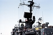 USS Ramsey (FFG-2) radar and electronic equipment