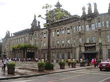 L'Università di Santo Tomas a Manila, una delle più antiche e prestigiose università asiatiche.