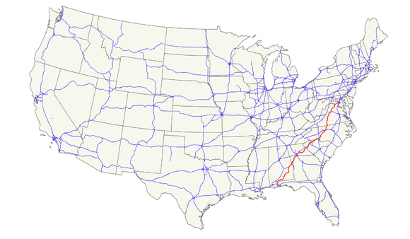 US Route Wikiwand - Us route 29 map