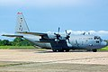 US Airforce Cargo C130 at Cotabato City Airport.jpg